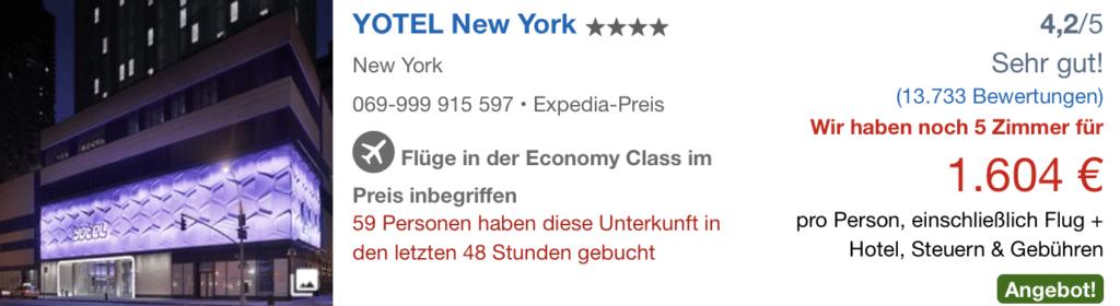ZRH NYC EXP