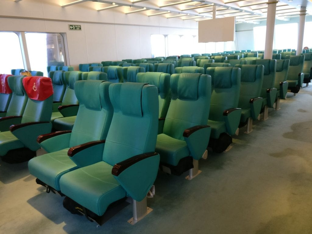 Buquebus Ferry Seating 6