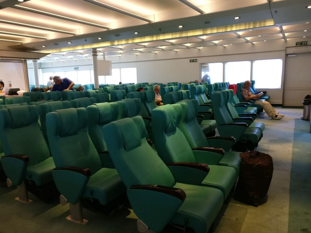 Buquebus Ferry Seating 7