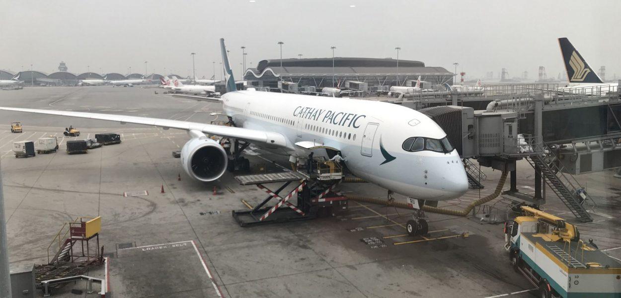 Cathay Pacific Airbus A350 Hongkong