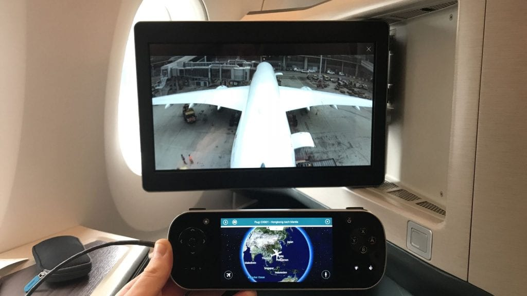 Cathay Pacific Business Class Airbus A350 Entertainment Controller