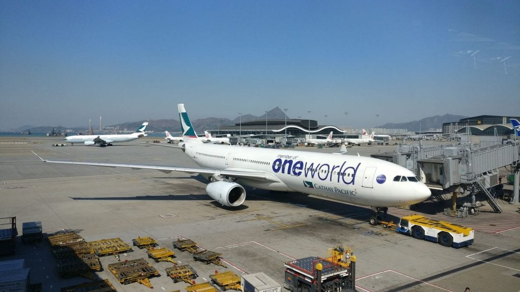 Cathay Pacific oneworld Airbus A330 200