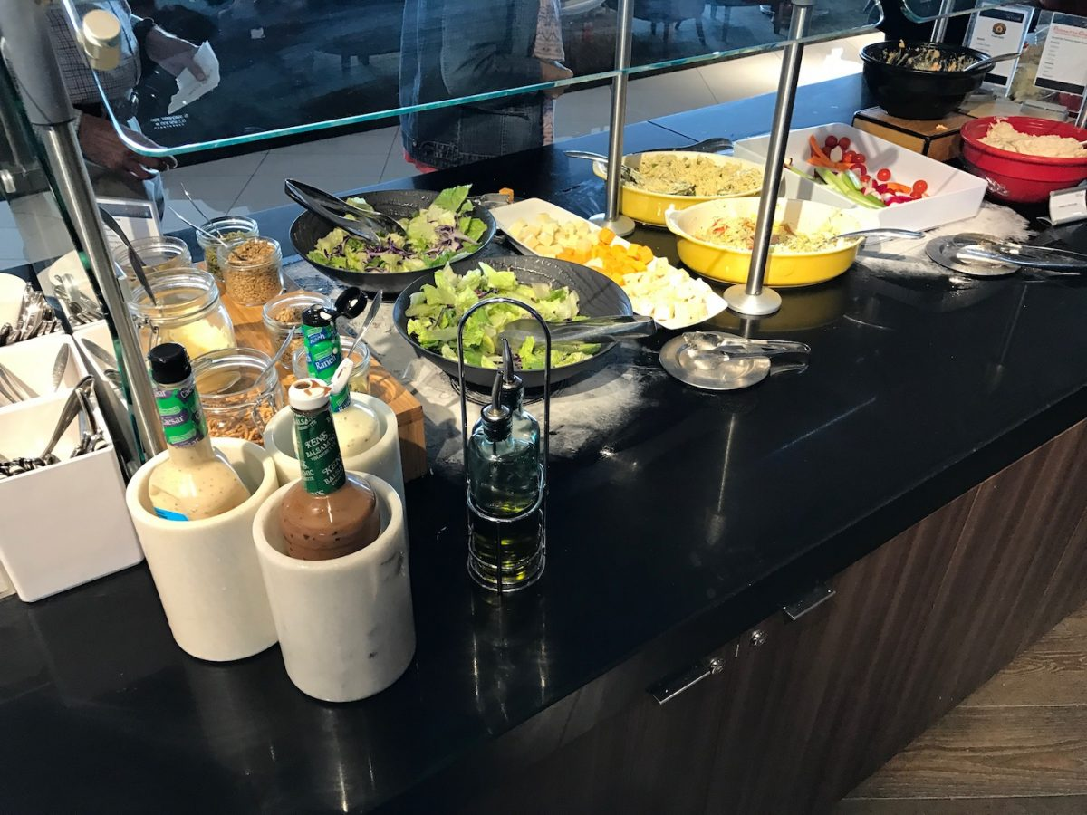 Delta Sky Club Atlanta B18 Buffet