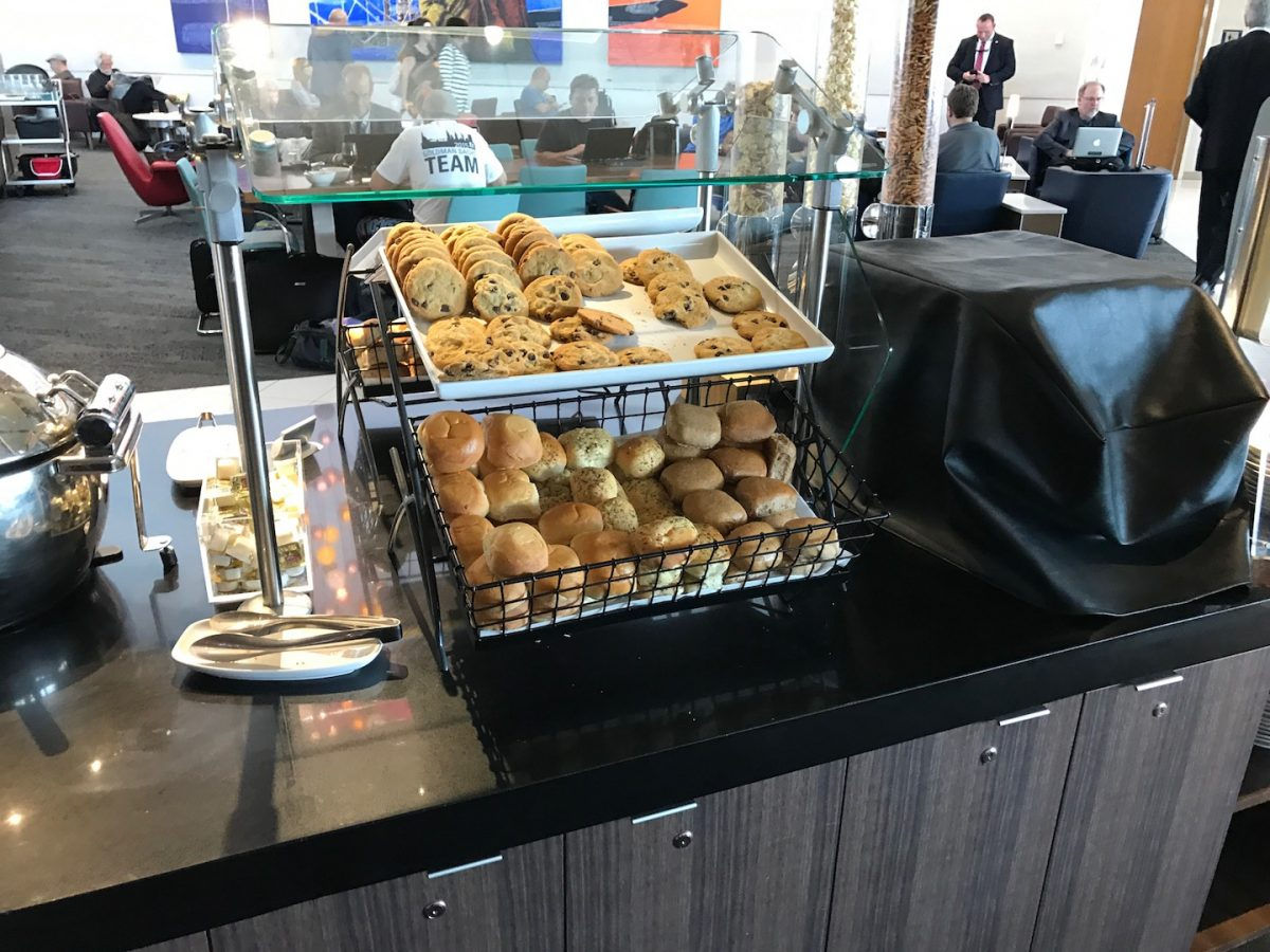 Delta Sky Club Atlanta B18 Buffet 2