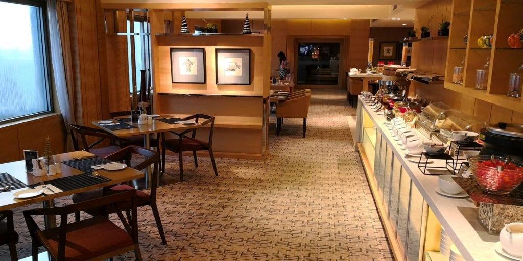 Double Tree Johor Bahru Executive Lounge Raum