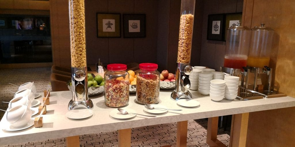 Double Tree Johor Bahru Executive Lounge Snacks