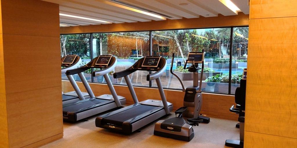 Double Tree Johor Bahru Fitness Laufbänder
