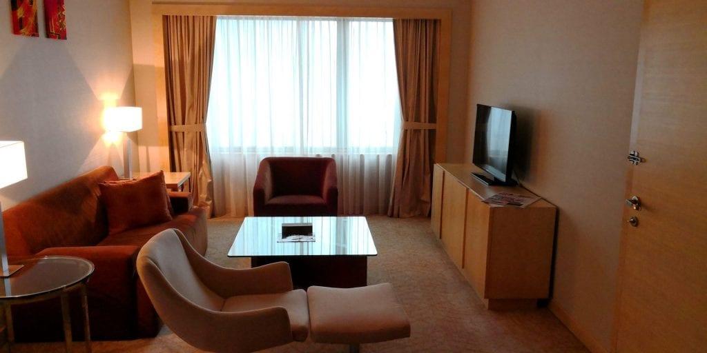 Double Tree Johor Bahru Zimmer Sofa Ecke