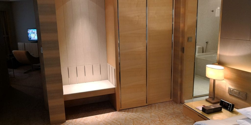 Double Tree Johor Bahru Zimmer Suite Eingangsbereich