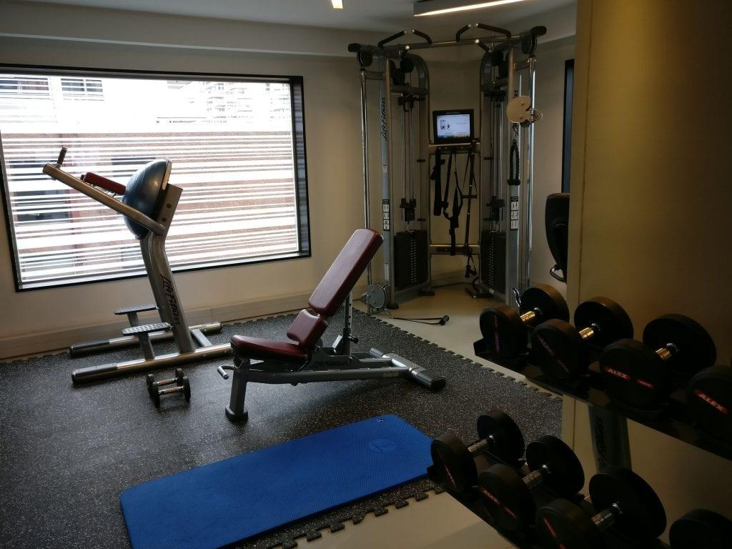 DoubleTree Santiago Vitacura Gym 2
