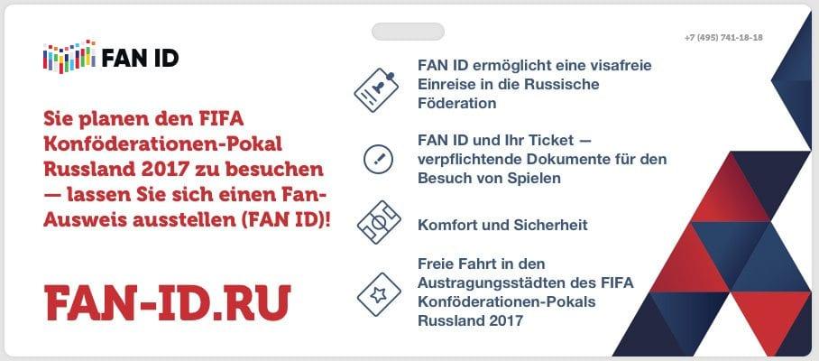 Einreisebestimmungen für Russland – Fan ID
