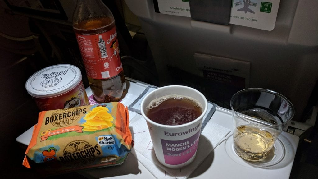 Eurowings Best Catering