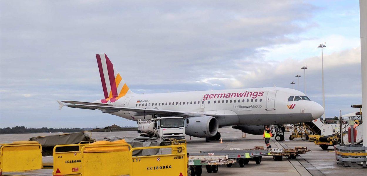 Eurowings Germanwings Airbus A319 Porto