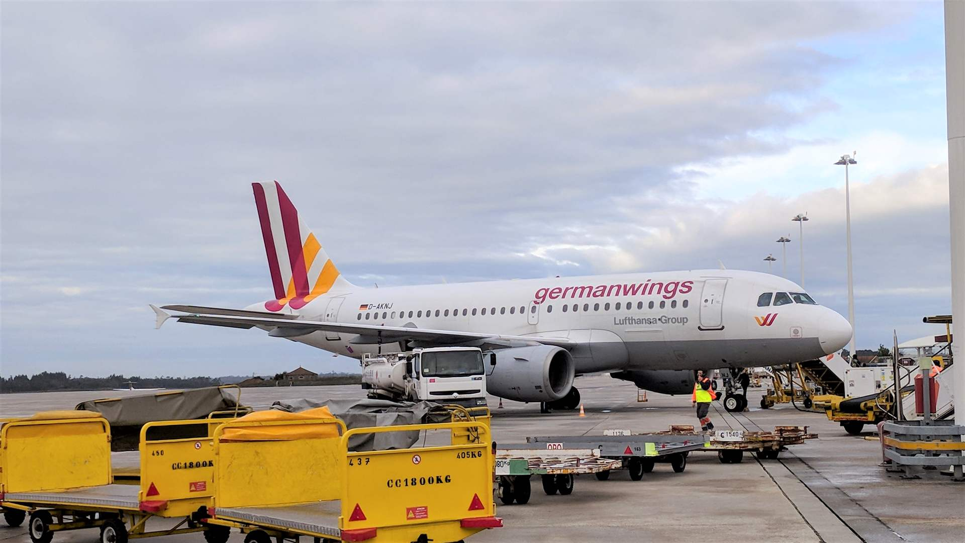 Eurowings Germanwings Airbus A319 Porto
