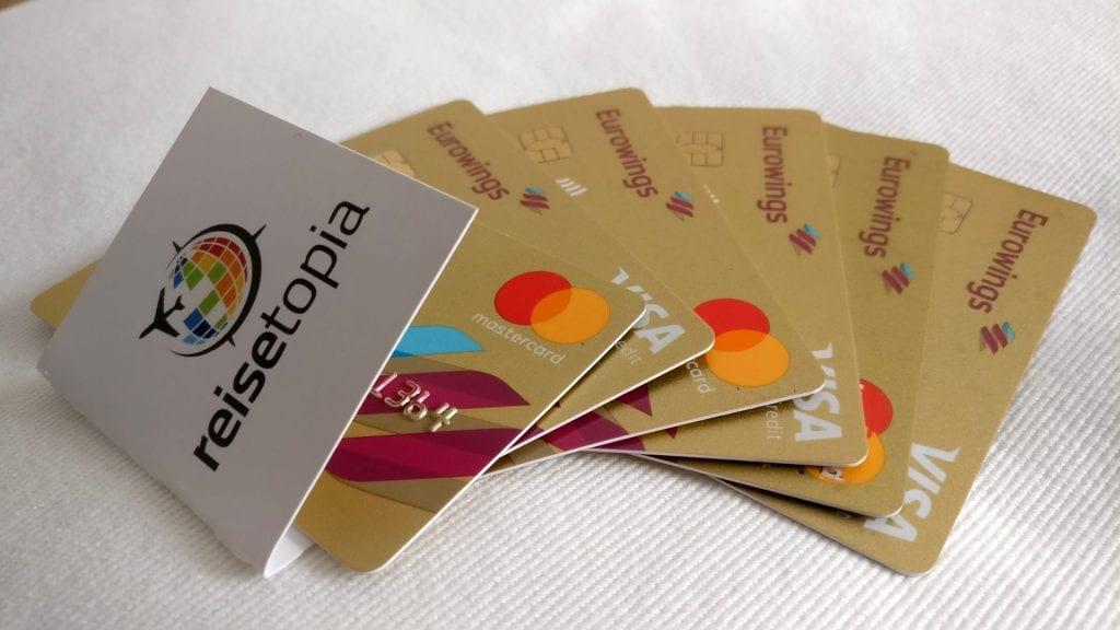Eurowings Boomerang Club Meilen sammeln Kreditkarte