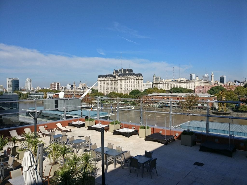 Hilton Buenos Aires Executive Lounge View
