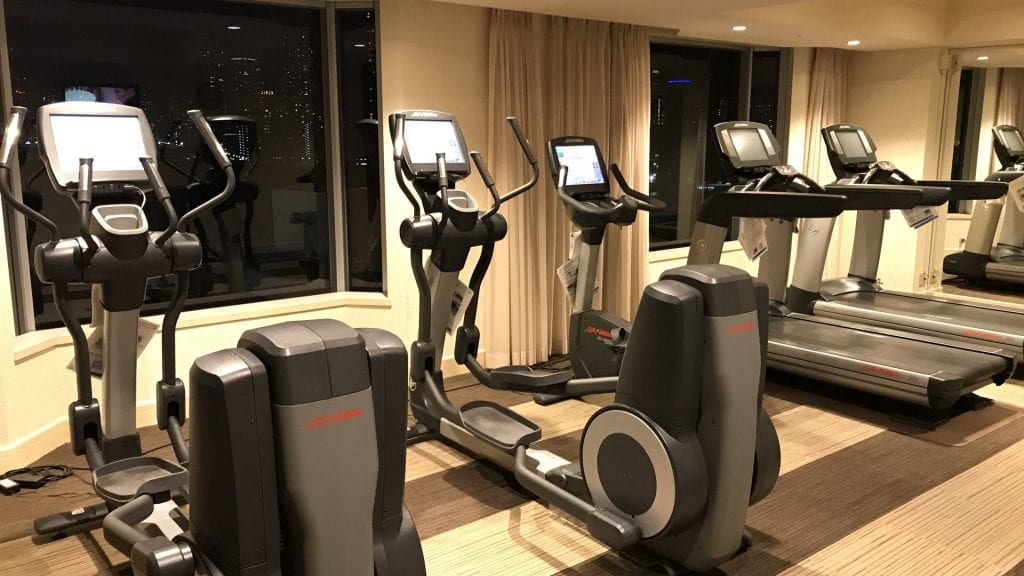 Intercontinental tokyo bay gym 1