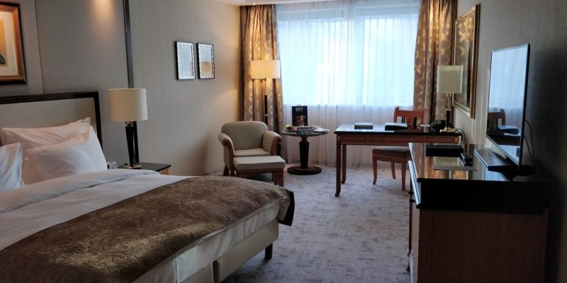 Kempinski Hotel Corvinus Budapest Premium Deluxe Zimmer