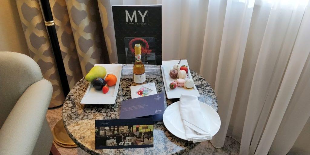Kempinski Hotel Corvinus Budapest Willkommensgeschenk