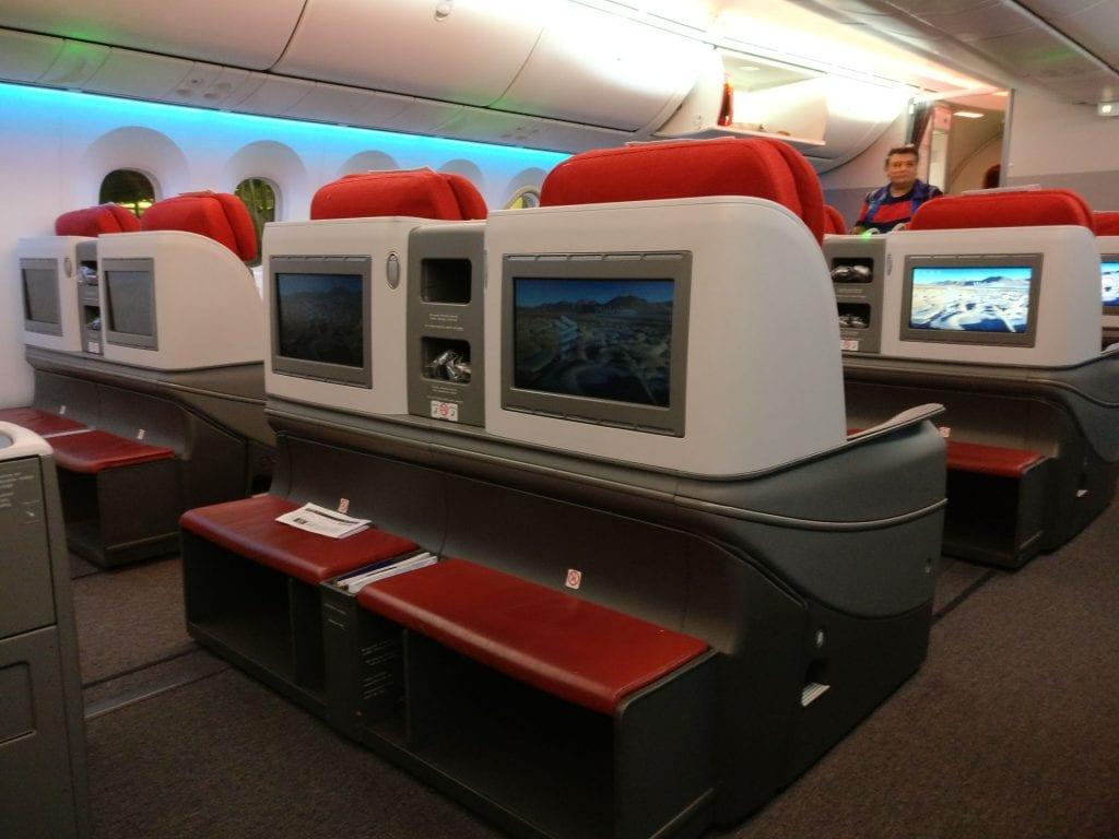 LATAM Business Class Boeing 787 9 Cabin 2