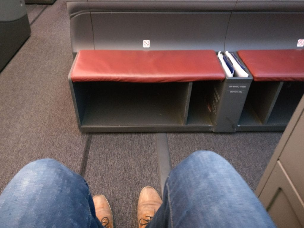 LATAM Business Class Boeing 787 9 Seat Pitch