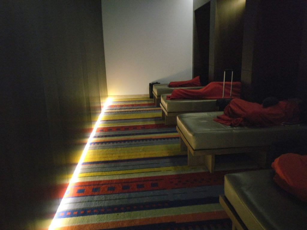 LATAM Lounge Santiago Relaxation Room