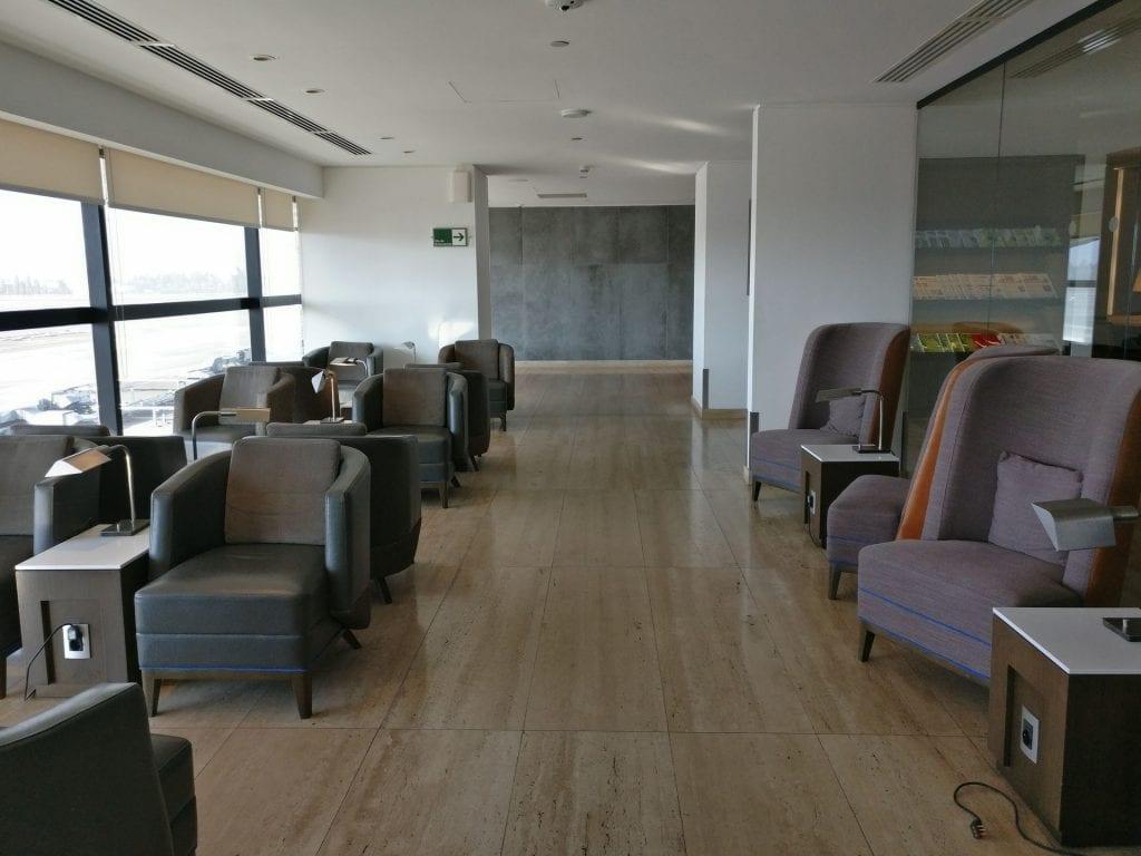 LATAM Lounge Santiago Seating 2