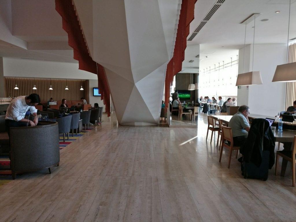 LATAM Lounge Santiago Seating 9