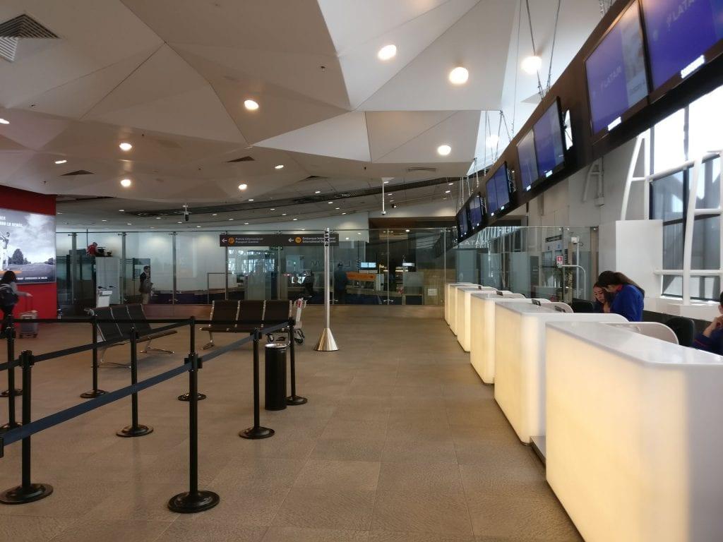 LATAM Premium Check in Santiago