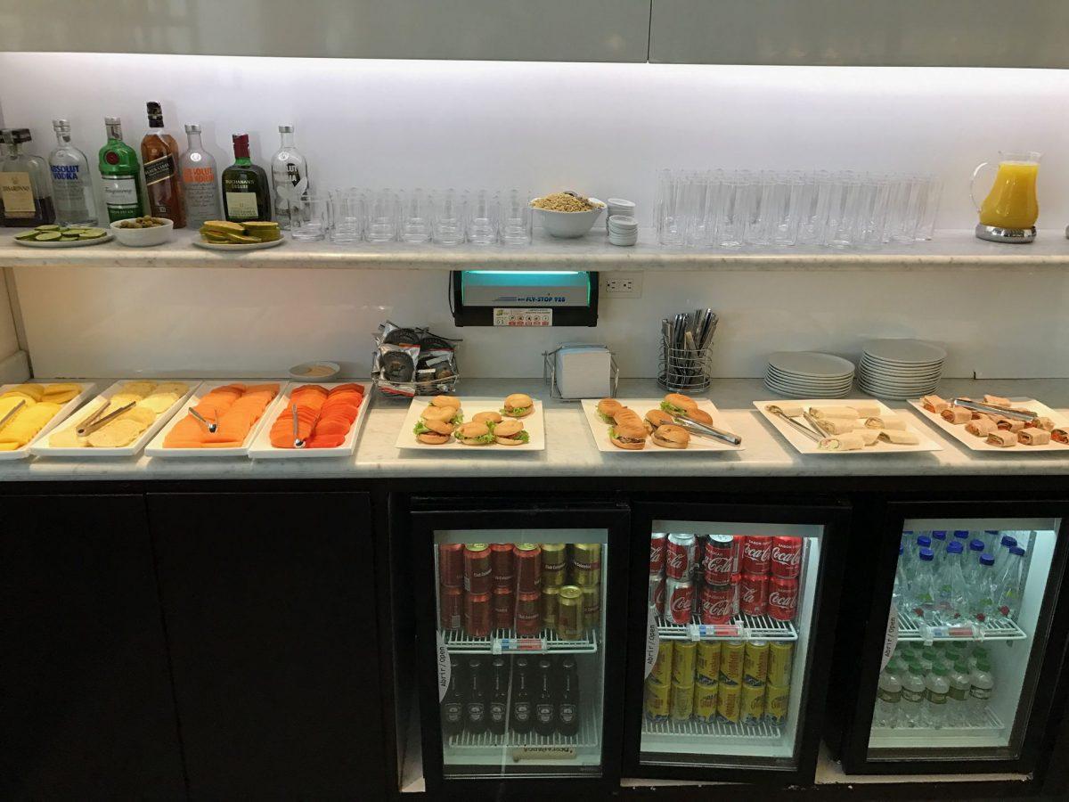 Latam Lounge Bogota Buffet 2