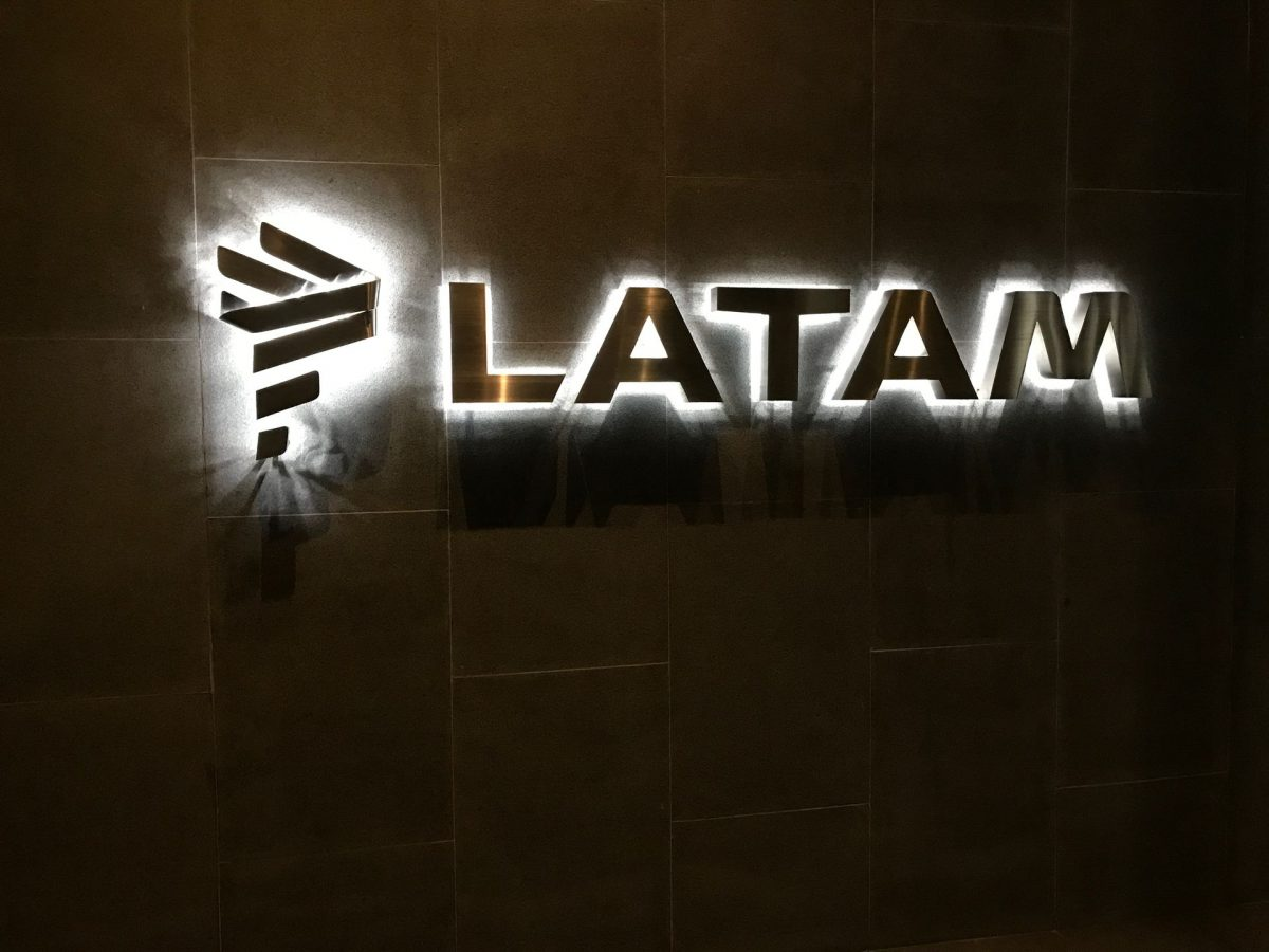 Latam VIP Lounge Bogota Eingang 2