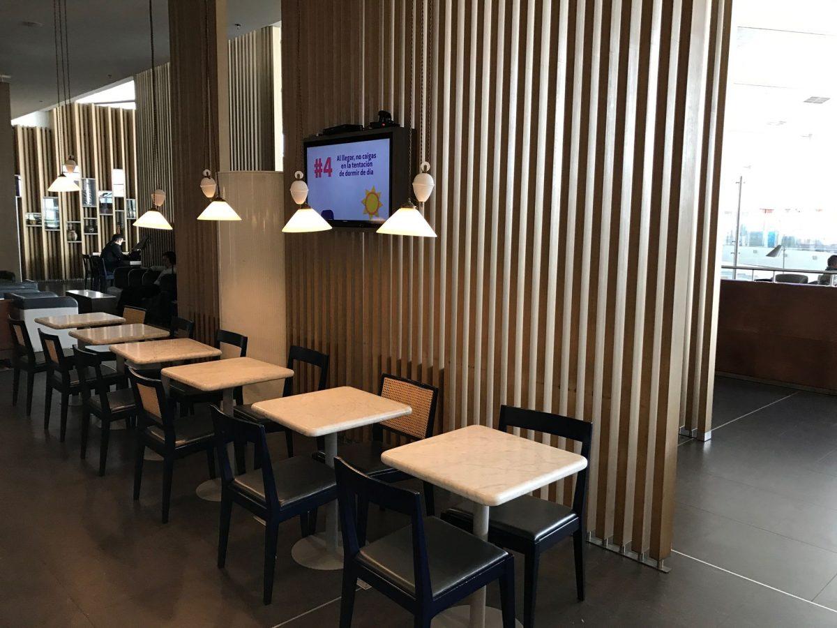 Latam Lounge Bogota Sitzgelegenheiten 3