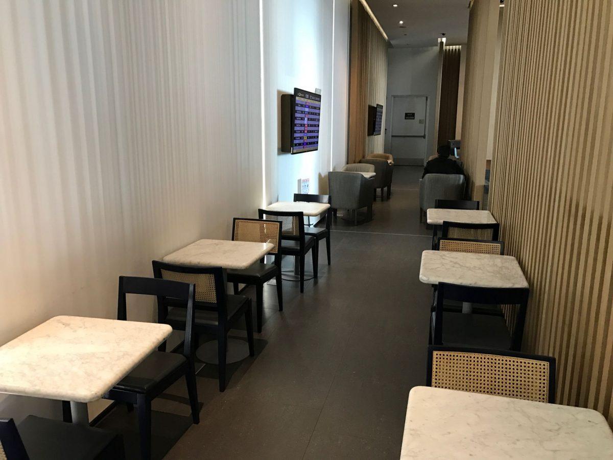 Latam Lounge Bogota Sitzgelegenheiten 4