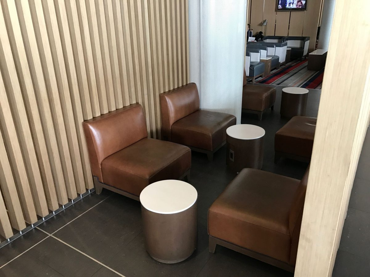 Latam Lounge Bogota Sitzgelegenheiten 5