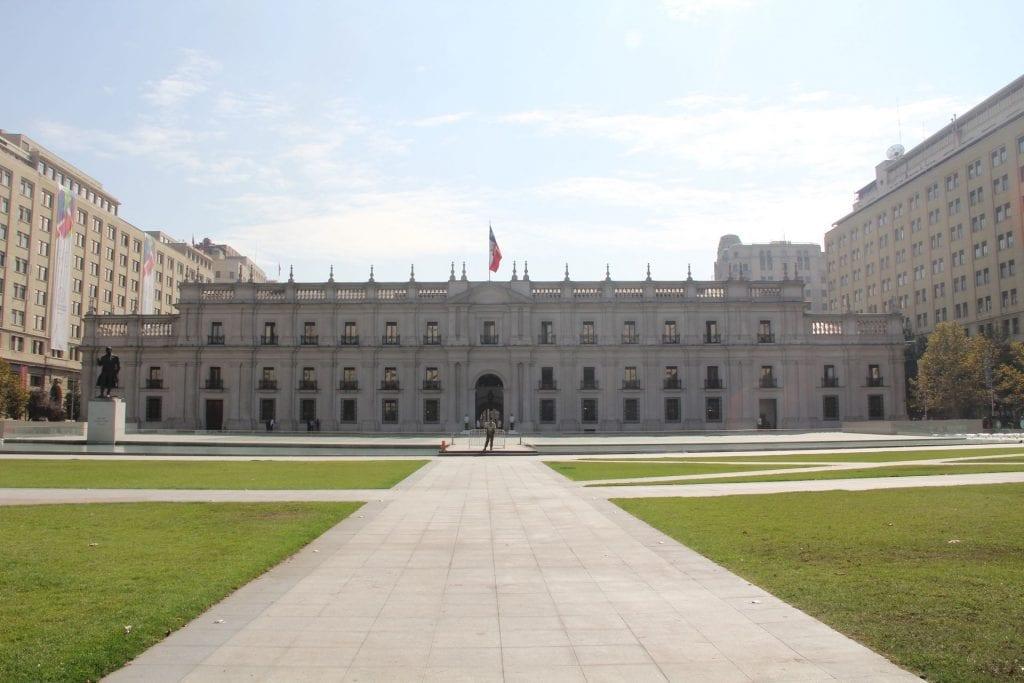 Santiago de Chile La Moneda 2