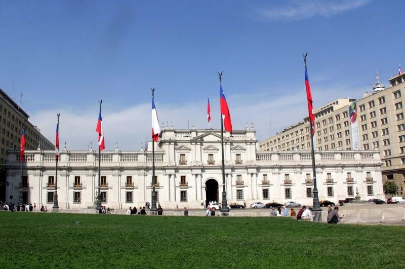 Santiago de Chile La Moneda