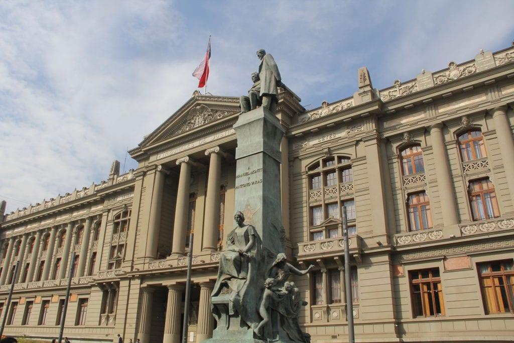 Santiago de Chile Palacio de los Tribunales