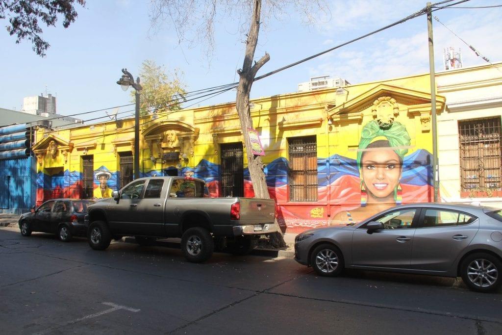 Santiago de Chile Straße