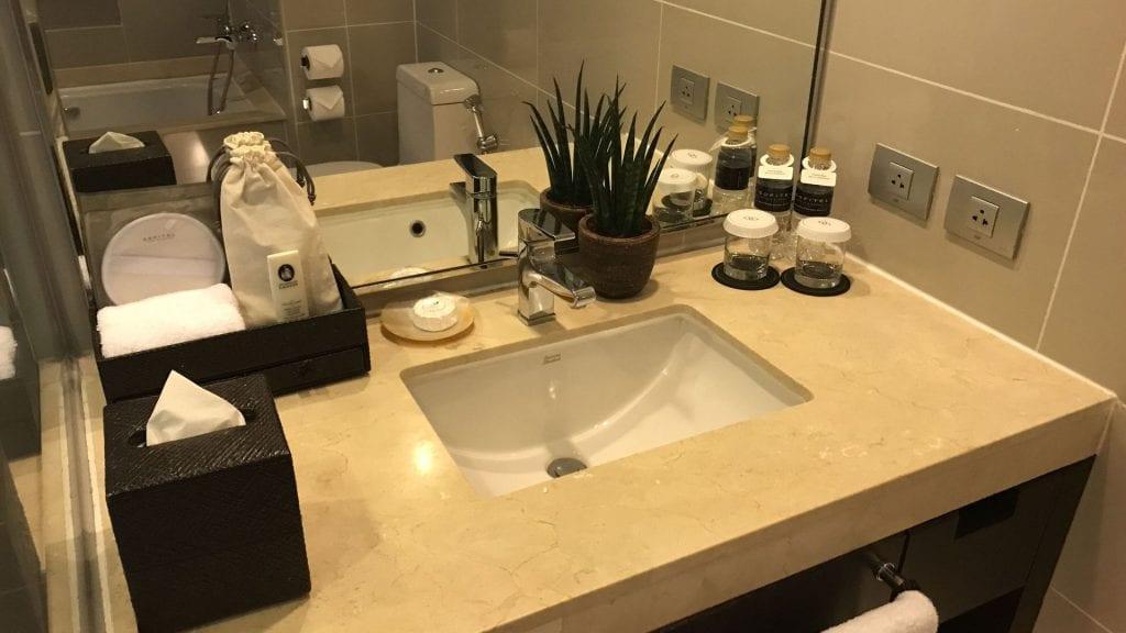 Sofitel Manila Badezimmer 1
