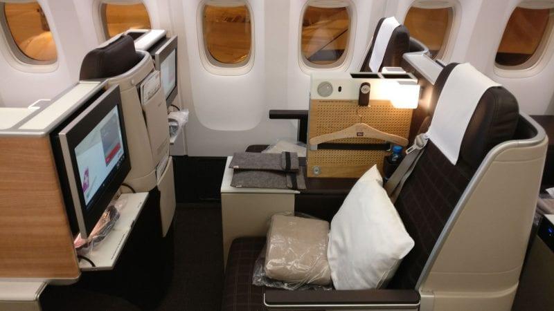 Swiss Business Class Boeing 777 2