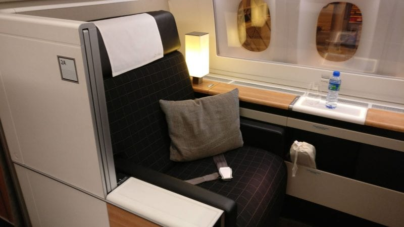 Swiss First Class Boeing 777 Suite 2