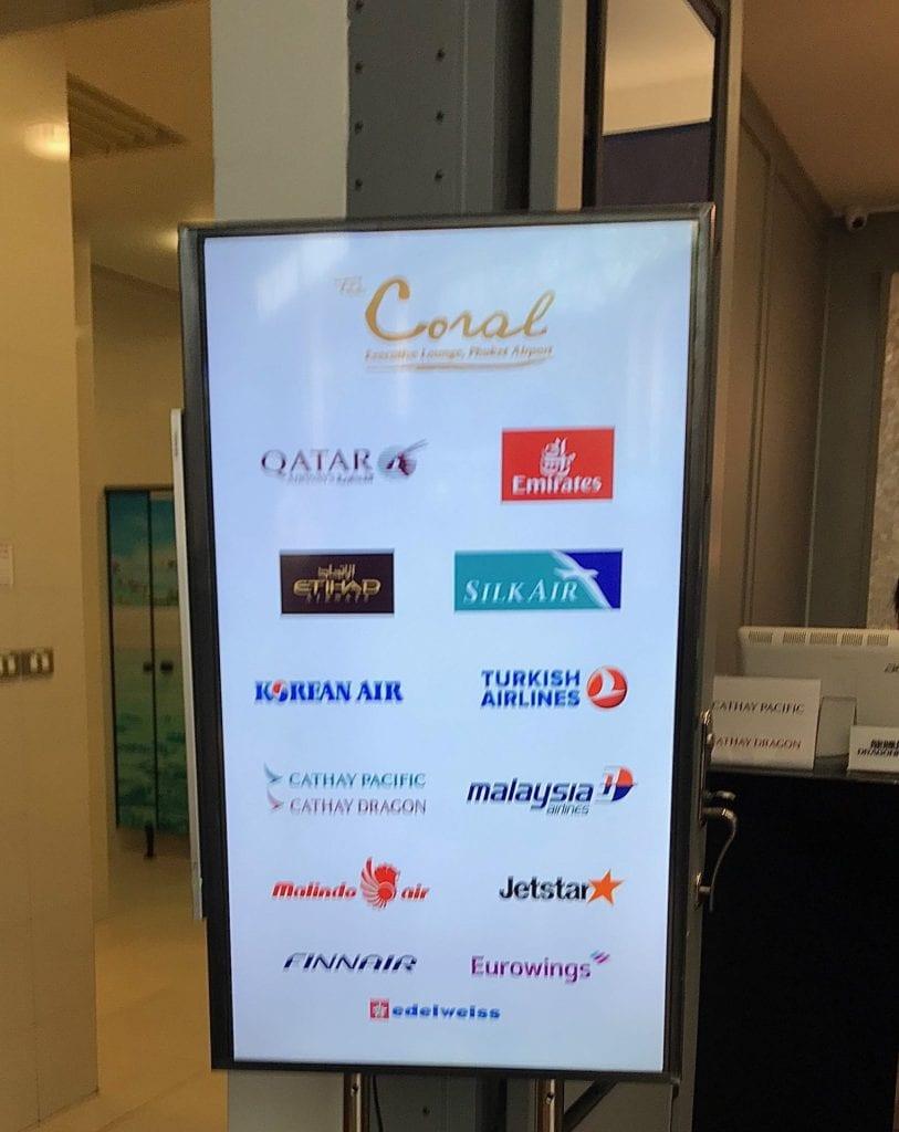 The Coral Executive Lounge Phuket