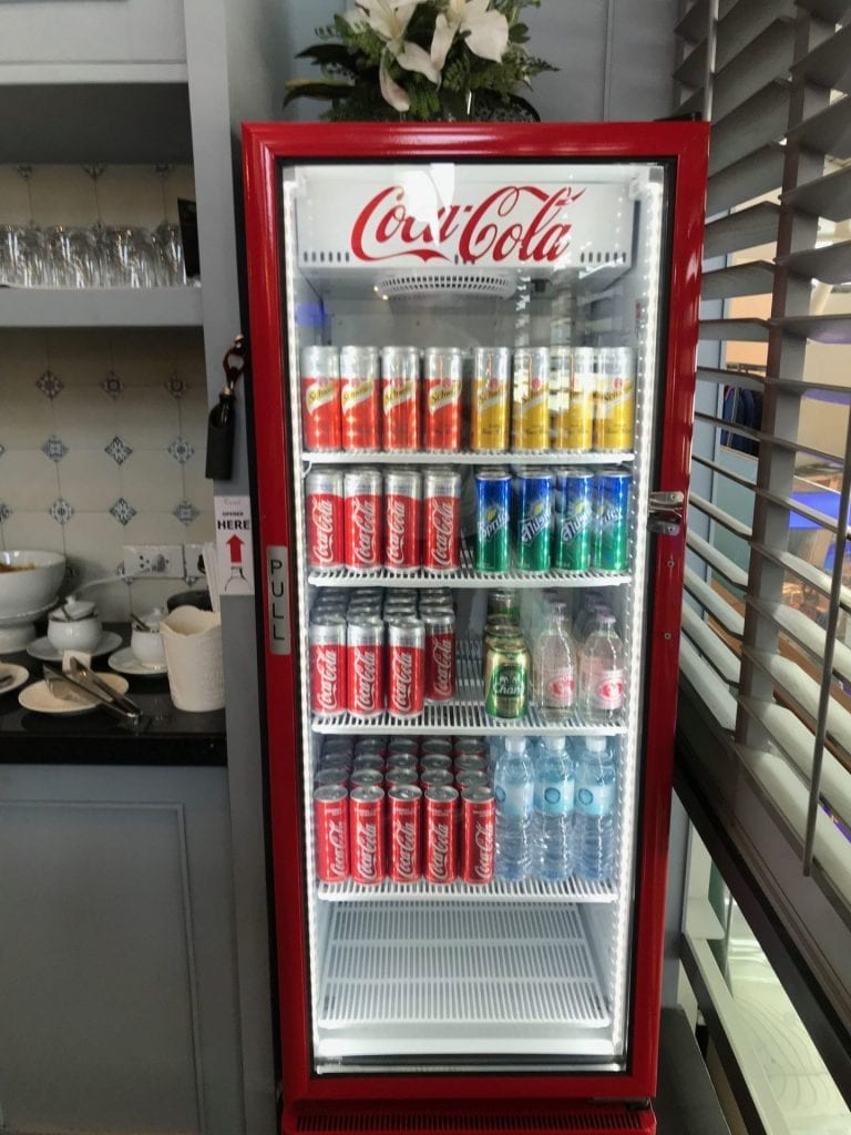 The Coral First Class Lounge Phuket Softdrinks