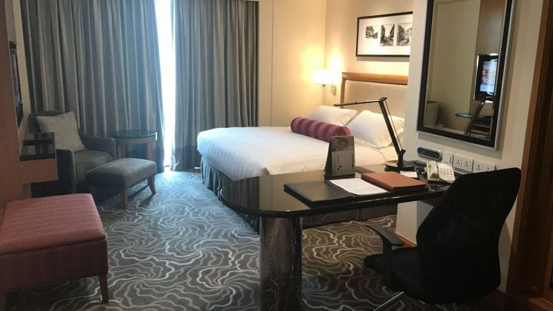 The Pan Pacific Manila Zimmer