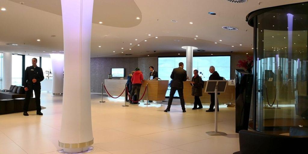 The Westin Hamburg Elbphilharmonie Eingangsbereich