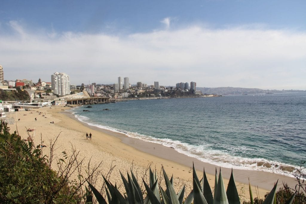 Vina del Mar Playa Caleta Abarca 4