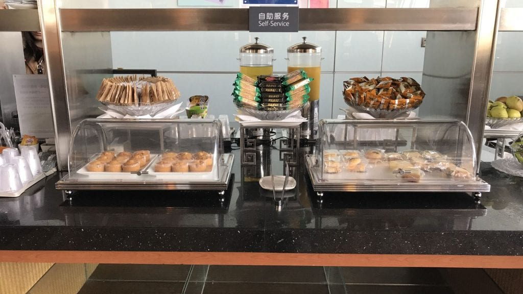 air china business class lounge peking buffet