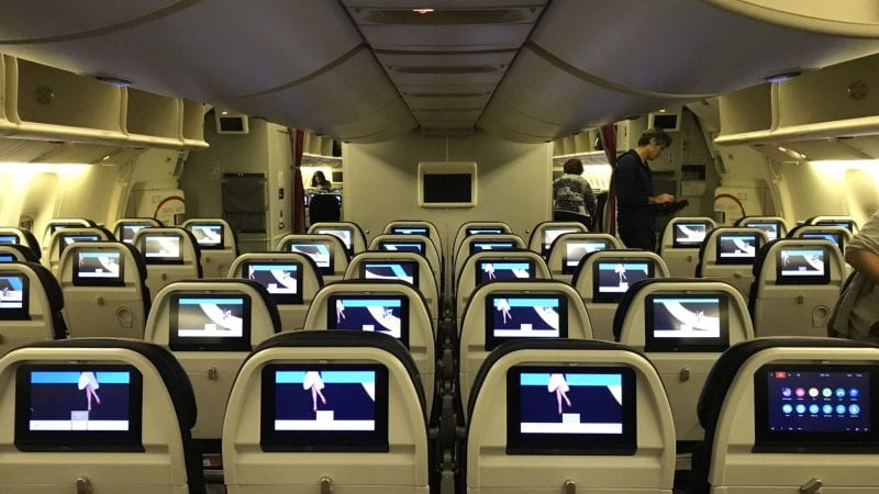 Air France Economy Calss Boeing 777