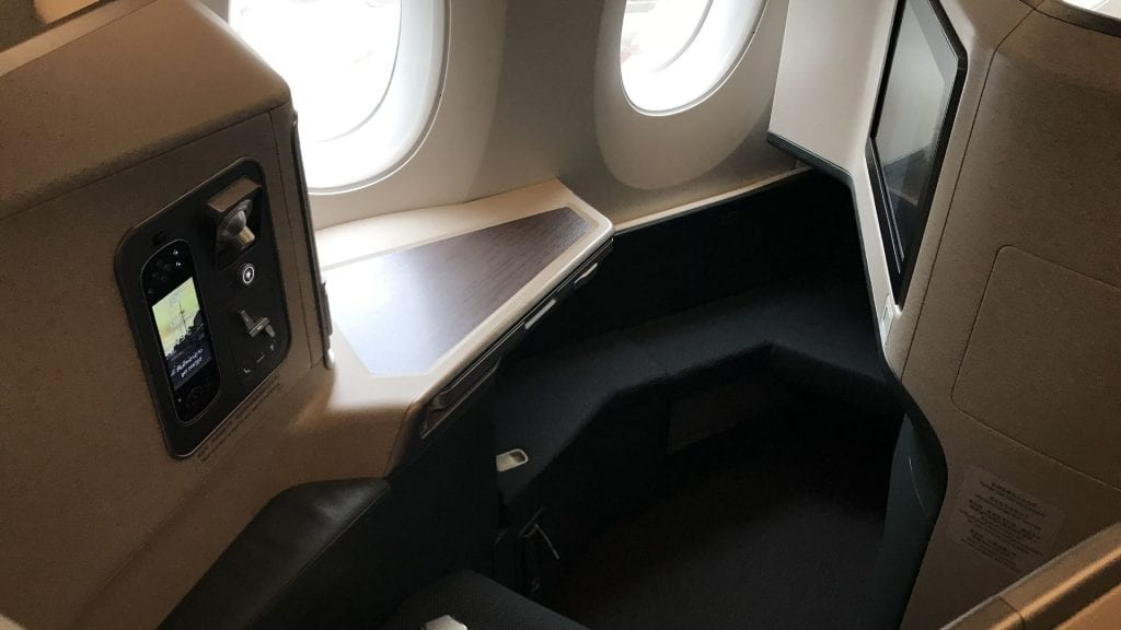 cathay pacific business class airbus a350 sitz