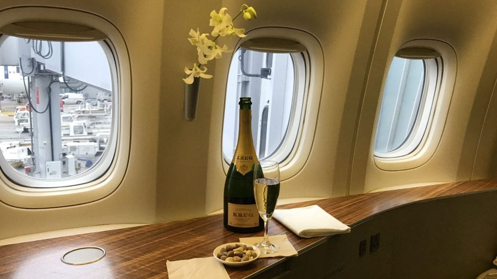 Membership Rewards Cathay Pacific First Class